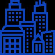 005-buildings blue